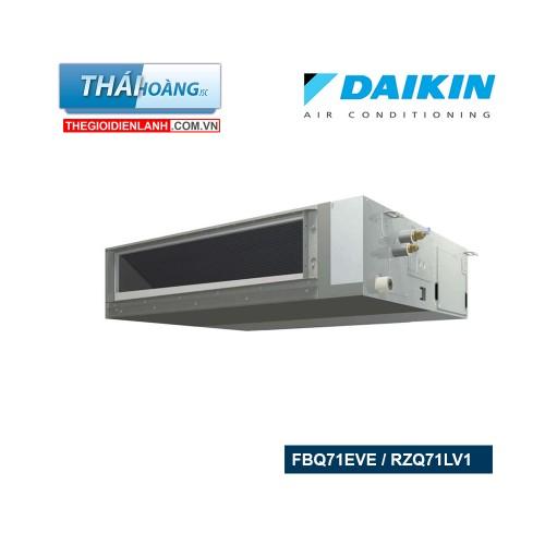 Điều Hòa Ống Gió Daikin Inverter Hai Chiều 24000 BTU FBQ71EVE / RZQ71LV1 / R410A