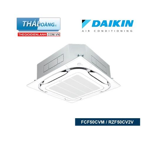 Điều Hòa Âm Trần Daikin Inverter Một Chiều 18000 BTU FCF50CVM / RZF50CV2V + BRC1E63 / R32