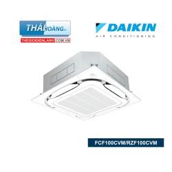 Điều Hòa Âm Trần Daikin Inverter Một Chiều 34000 BTU FCF100CVM / RZF100CVM + BRC1E63 / R32