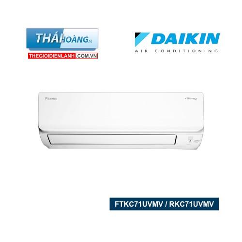 Điều Hòa Daikin  Inverter Một Chiều  24000 BTU FTKC71UVMV / RKC71UVMV / R32