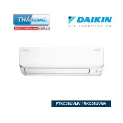 Điều Hòa Daikin  Inverter Một Chiều 9000 BTU FTKC25UVMV / RKC25UVMV / R32