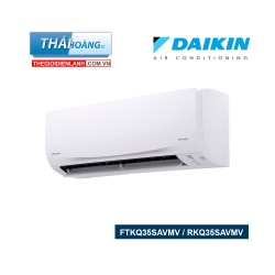 Điều Hòa Daikin  Inverter Một Chiều 12000 BTU FTKQ35SAVMV / RKQ35SAVMV / R32