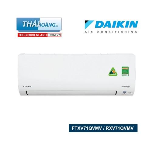 Điều Hòa Daikin Inverter Hai Chiều 24000 BTU FTXV71QVMV / RXV71QVMV / R32