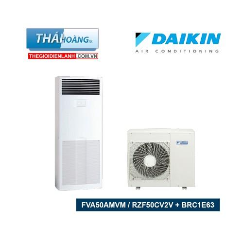 Điều Hòa Tủ Đứng Daikin Inverter Một Chiều 17000 BTU FVA50AMVM / RZF50CV2V + BRC1E63 / R32
