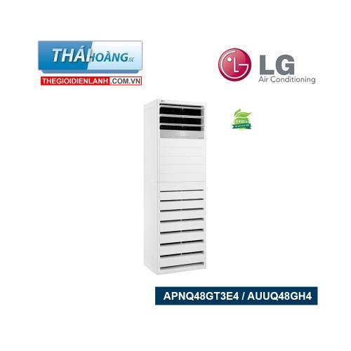 Điều Hòa Tủ Đứng LG Inverter Một Chiều  48000 BTU APNQ48GT3E4 / AUUQ48GH4 / R410A