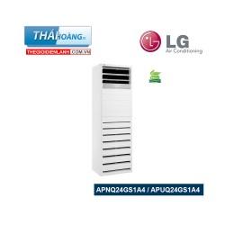 Điều Hòa Tủ Đứng LG Inverter Một Chiều 24000 BTU  APNQ24GS1A4 / APUQ24GS1A4 / R410