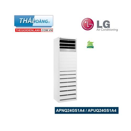 Điều Hòa Tủ Đứng LG Inverter Một Chiều 24000 BTU  APNQ24GS1A4 / APUQ24GS1A4 / R410A