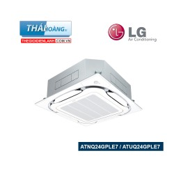Điều Hòa Âm Trần LG Inverter Một Chiều 24000 BTU ATNQ24GPLE7 / ATUQ24GPLE7 / R410