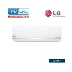 Điều Hòa LG  Inverter Một Chiều 24000 BTU V24ENF / R32