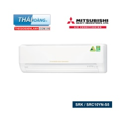 Điều Hòa Mitsubishi Heavy Inverter Một Chiều 9000 BTU SRK / SRC10YN-S5 / R410