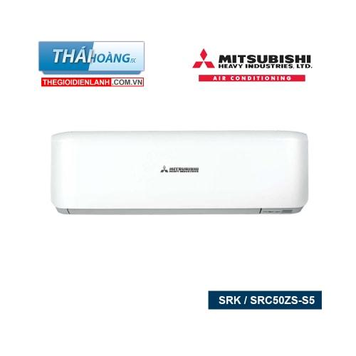 Điều Hòa Mitsubishi Heavy Inverter Hai Chiều 18000 BTU SRK / SRC50ZS-S5 / R410