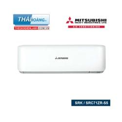 Điều Hòa Mitsubishi Heavy Inverter Hai Chiều 24000 BTU SRK / SRC71ZR-S / R410