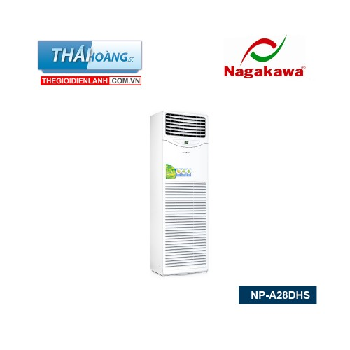 Điều Hòa Tủ Đứng Nagakawa Hai Chiều 28000 BTU NP - A28DHS / R410A