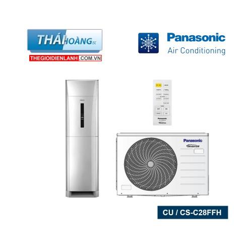Điều Hòa Tủ Đứng Panasonic Một Chiều 28000 BTU CU / CS - C28FFH