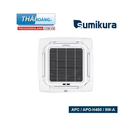 Điều Hòa Âm Trần Sumikura Hai Chiều 48000 BTU APC / APO-H480 / 8W-A / R410A