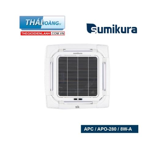 Điều Hòa Âm Trần Sumikura Một Chiều 28000 BTU APC / APO-280 / 8W-A / R410A