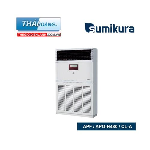 Điều Hòa Tủ Đứng Sumikura Hai Chiều 48000 BTU APF / APO-H480 / CL-A / R410A