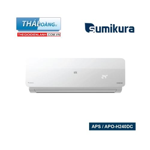 Điều Hòa Sumikura Inverter Hai Chiều 24000 BTU APS / APO-H240DC / R410A