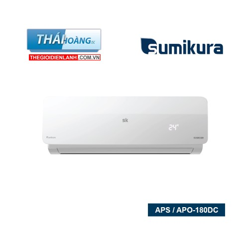 Điều Hòa Sumikura Inverter Một Chiều 18000 BTU APS / APO-180DC / R410A