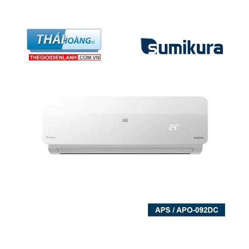 Điều Hòa Sumikura Inverter Một Chiều 9000 BTU APS / APO-092DC / R410A